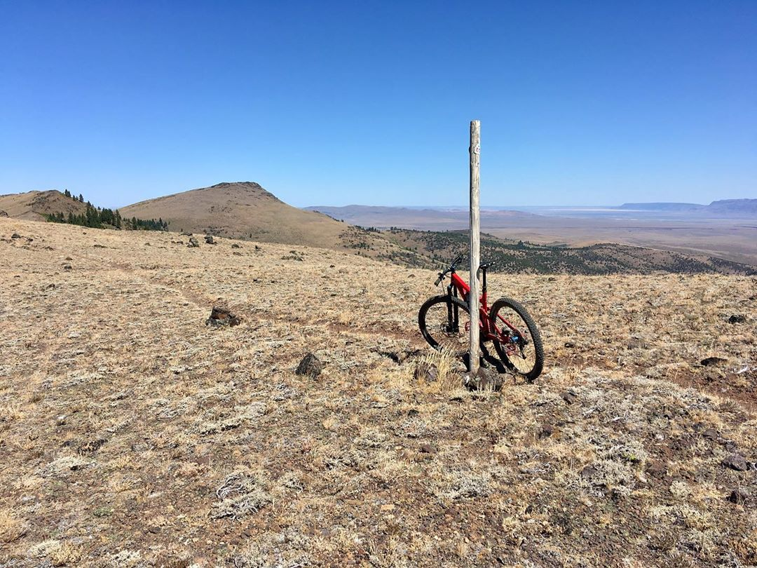 Maps are one thing, being there is another… Hart Mountain, Abert Rim, and Mount Shasta are just a few of the geographical heavy-hitters that can be seen from this ridge line